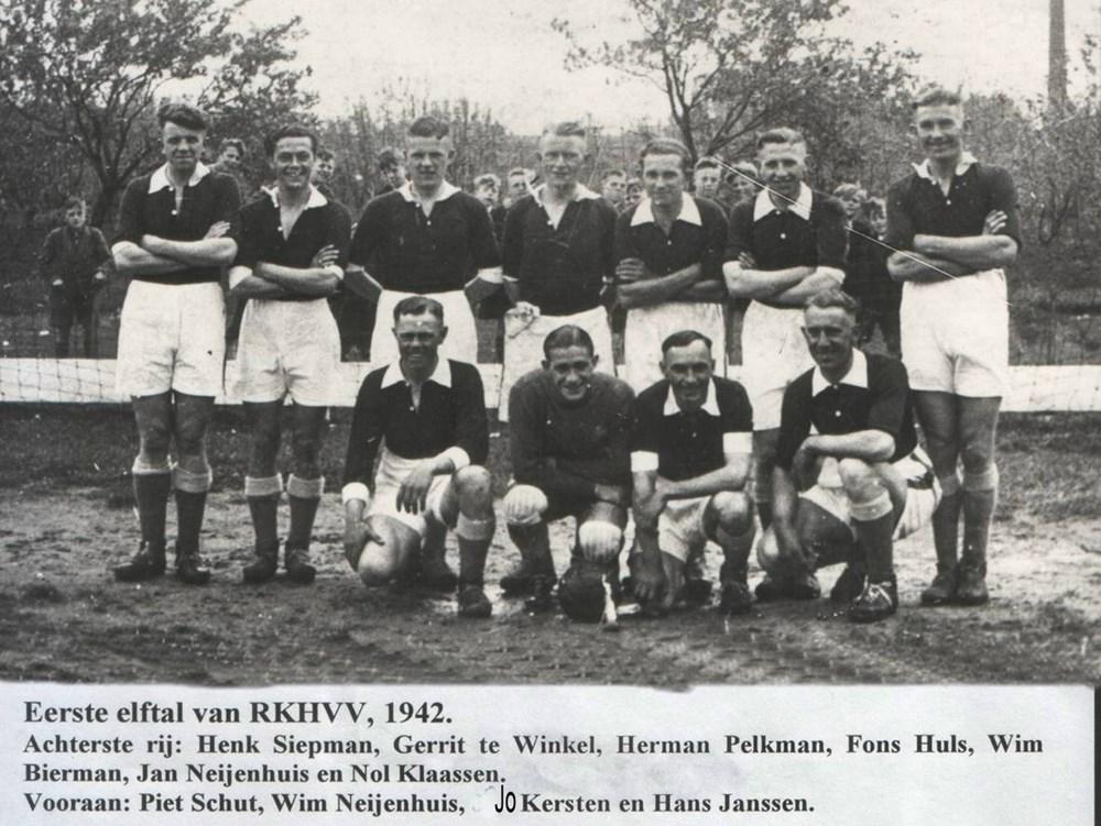 1942, RKHVV1 op Rosendael