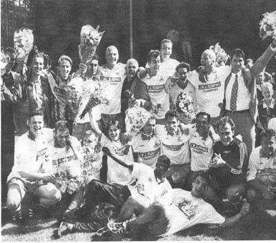 Seizoen 1996 - 1997 DEM naar de eerste klasse KNVB