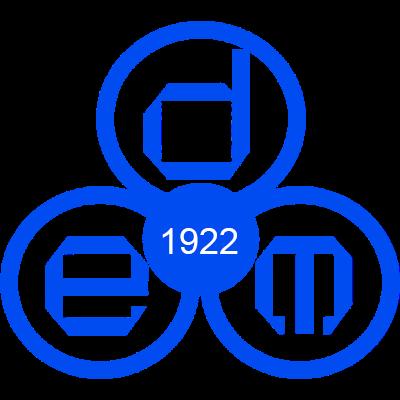 DEM logo oud