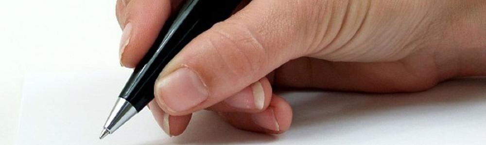 schrijver - pen