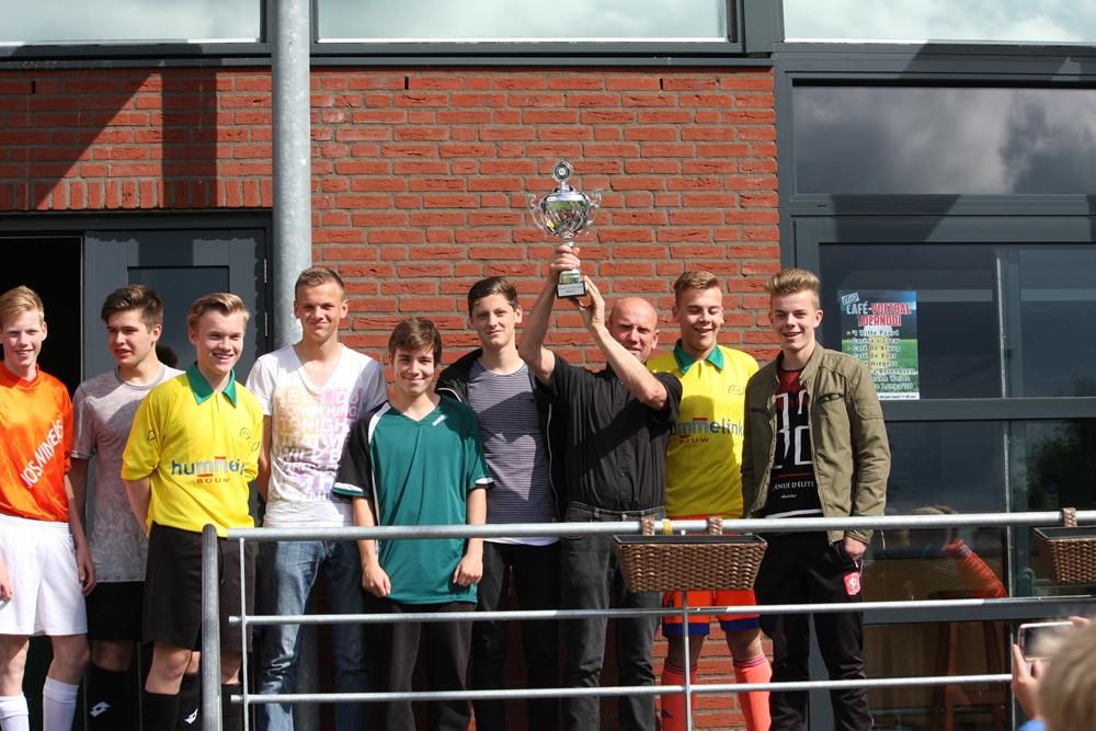 B1 team van het jaar jeugd