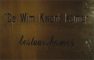 """De Wim Kwant kamer"""