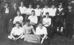 Het kampioenselftal uit 1933