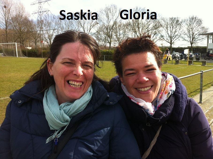 Saskia en Gloria