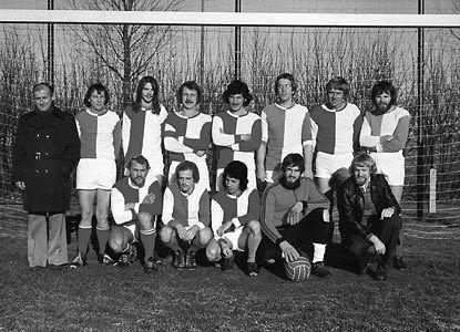 Senioren 2 kampioen 1972