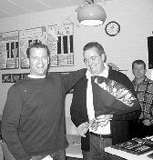 Trainer Peter van Bussel