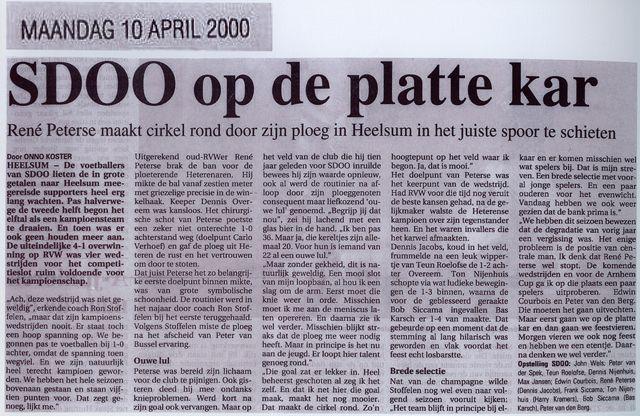 Krant 10 april 2000