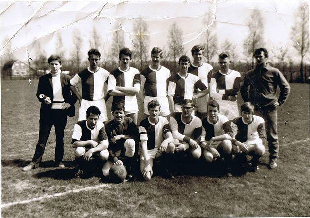 Zaterdagteam eind jaren zestig