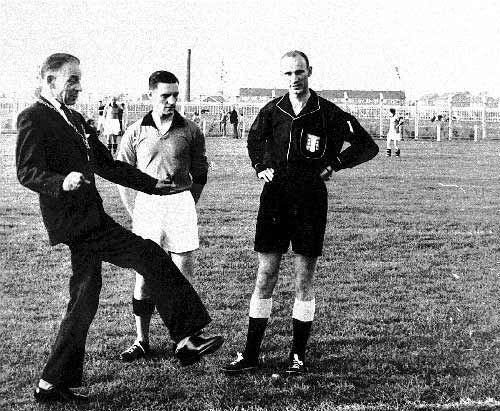 Opening eerste veld 1961