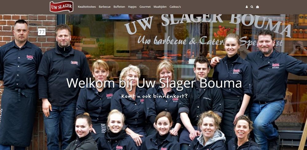 Het team van uw Slager Bouma