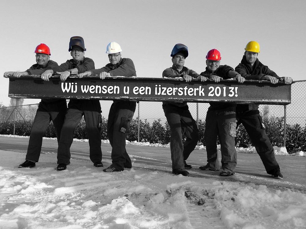 Nieuwjaarsgroet 2013