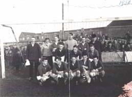 """VSV 1 op het terrein """"De Kickvors"""" in 1934"""