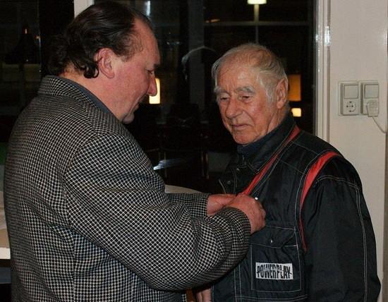 Dhr. Jur Smeltekop (65 jaar lid)