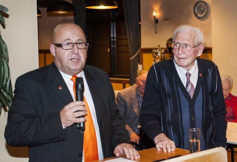 Jac Claasen 80 jaar lid van WSC