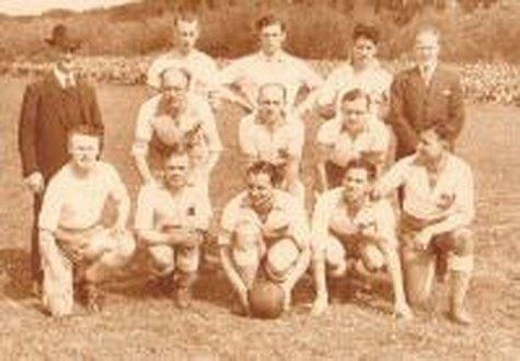Het kampioenselftal uit 1934